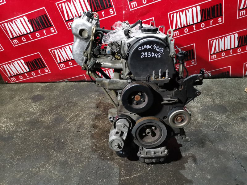 Двигатель Mitsubishi Airtrek CU2W 4G63 2001 DC7257