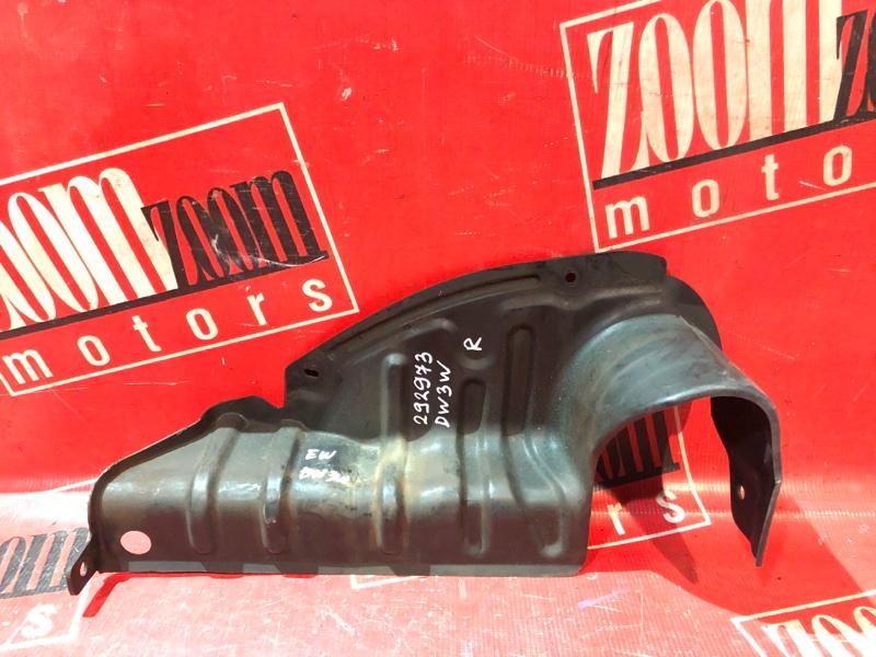 Защита двс Mazda Demio DW3W B3-E 1996 передняя правая