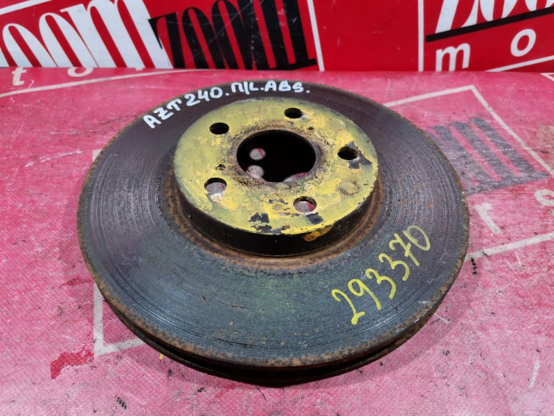 Диск тормозной Toyota Allion AZT240 1AZ-FE 2002 передний