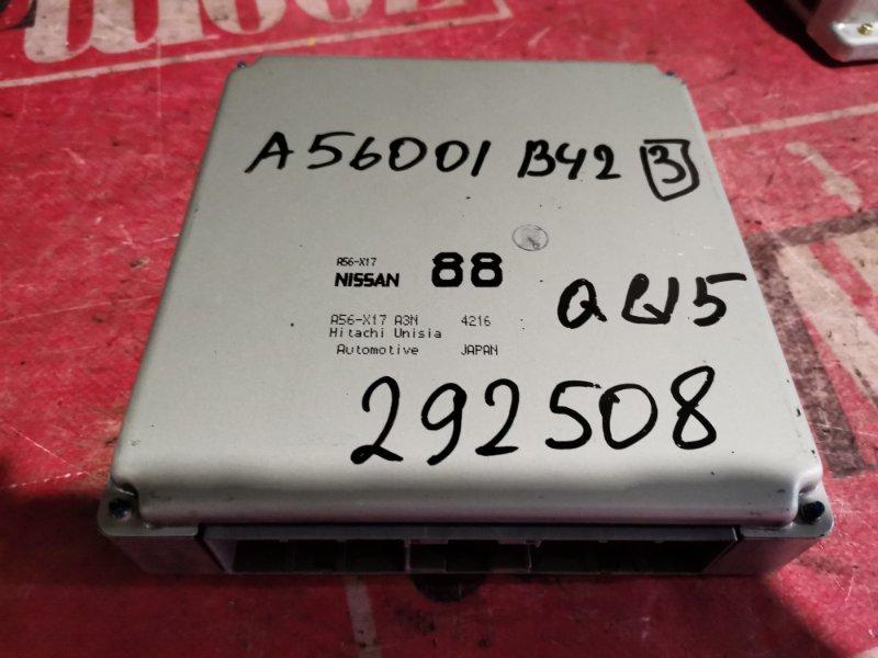 Компьютер (блок управления) Nissan Bluebird Sylphy TG10 QG18DE 2001
