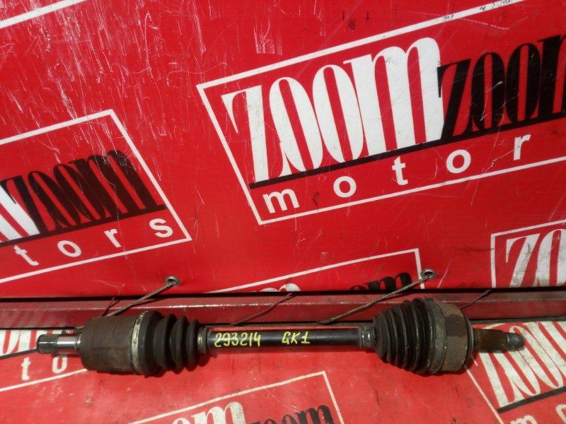 Привод Honda Mobilio Spike GK1 L15A 2002 передний левый