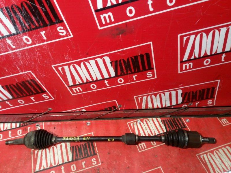 Привод Nissan Note E11 HR15DE 2004 передний правый