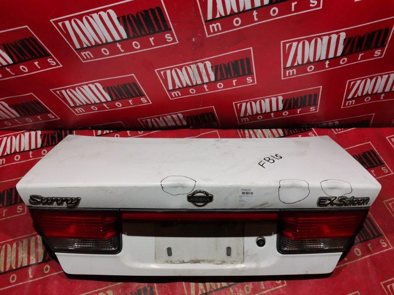 Крышка багажника Nissan Sunny FB15 QG15DE 1999 задняя белый
