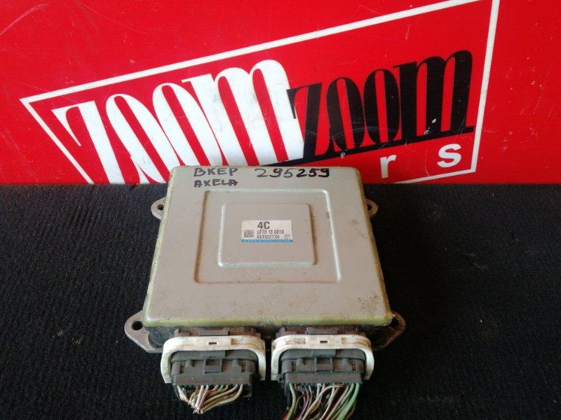 Компьютер (блок управления) Mazda Axela BKEP LF-DE 2001 LF7018881D