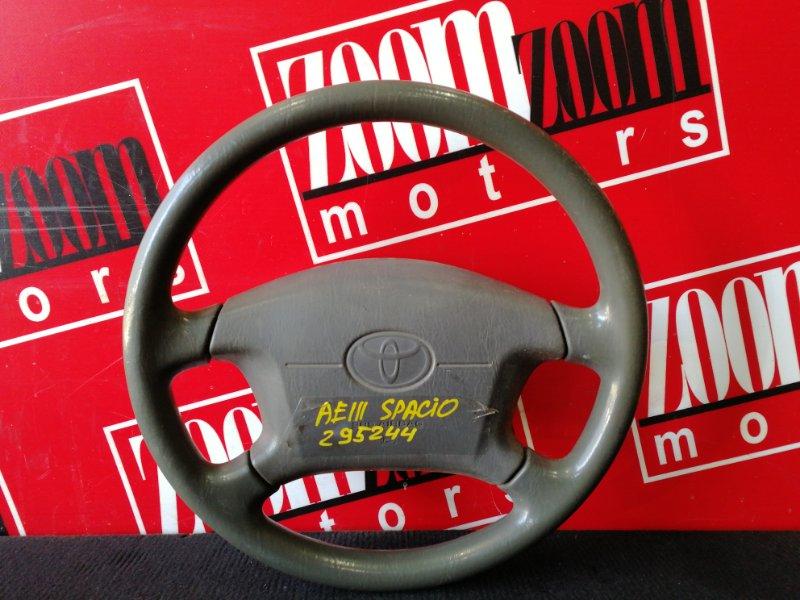 Руль Toyota Corolla Spacio AE111N 4A-FE 1997 серый