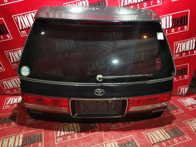 Дверь задняя багажника Toyota Mark Ii Qualis SXV20 5S-FE 1997 задняя черный
