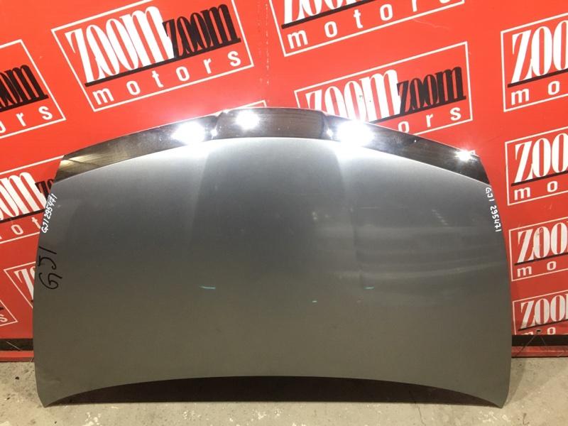 Капот Honda Airwave GJ1 L15A 2005 серый