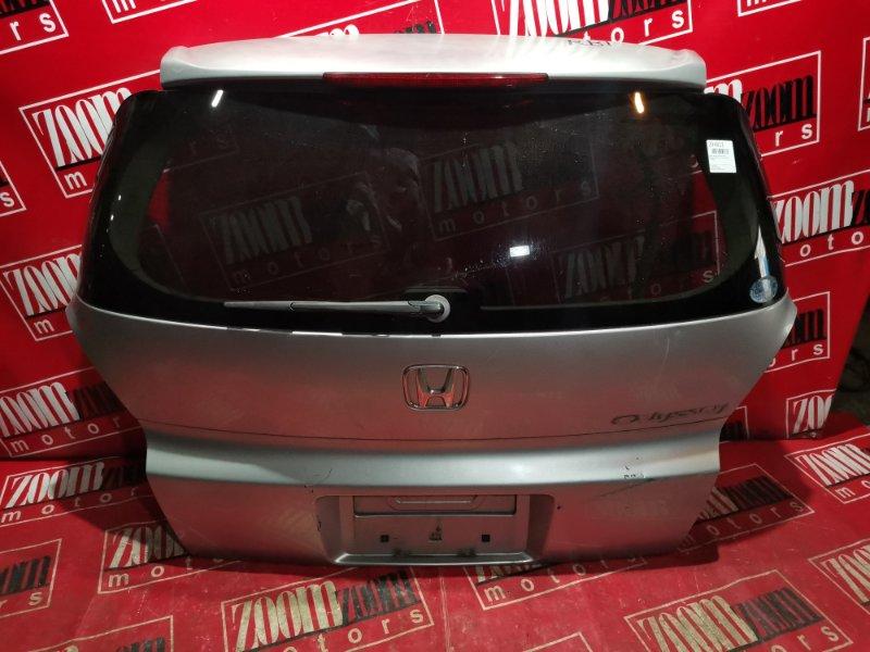 Дверь задняя багажника Honda Odyssey RB1 K24A 2003 задняя серебро