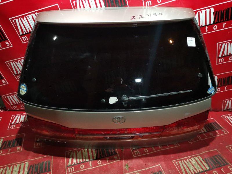 Дверь задняя багажника Toyota Vista Ardeo ZZV50 1ZZ-FE 2001 задняя серебро