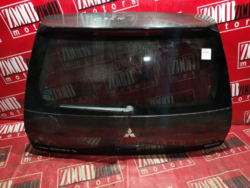 Дверь задняя багажника Mitsubishi Lancer Cedia CS5W 4G93 2001 задняя черный