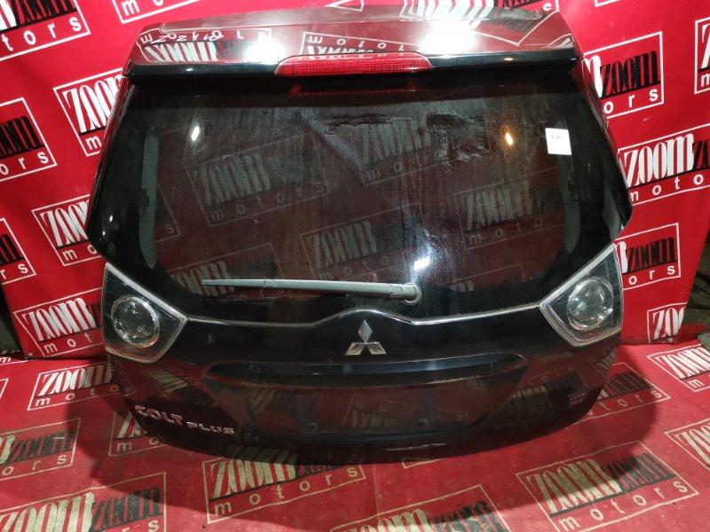 Дверь задняя багажника Mitsubishi Colt Plus Z21W 4A90 2002 задняя черный