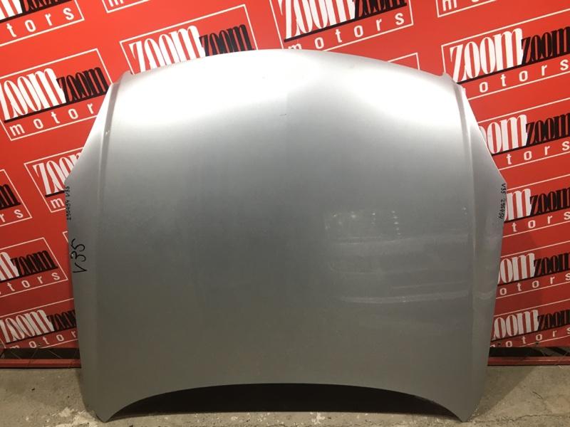 Капот Nissan Skyline V35 VQ25DD 2001 серебро