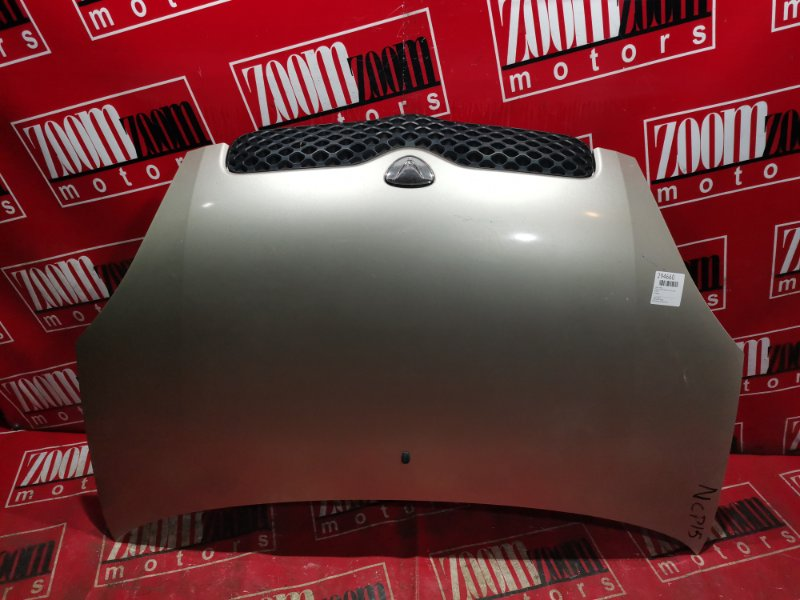 Капот Toyota Vitz SCP10 1SZ-FE 2003 передний золото