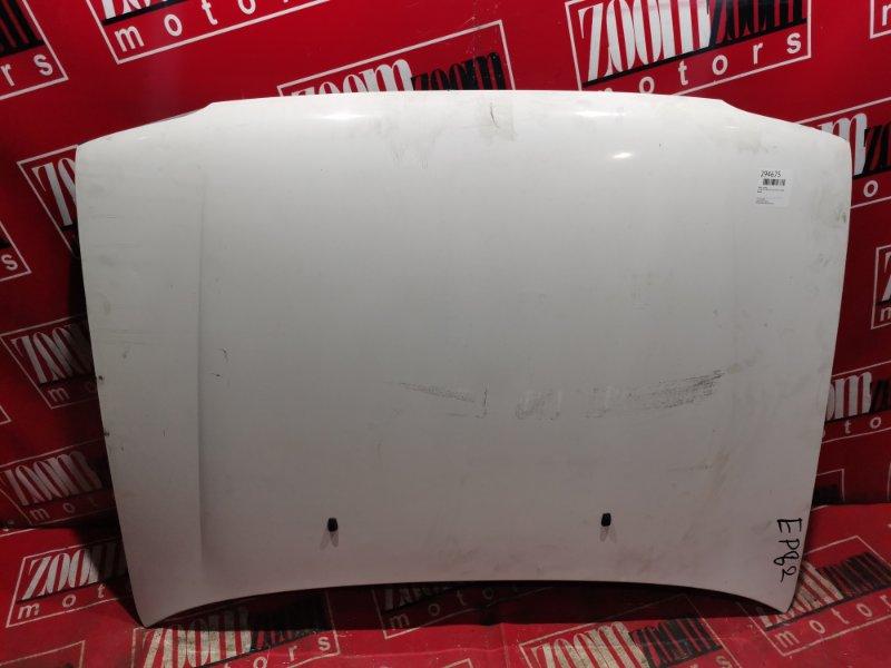Капот Toyota Starlet EP82 4E-FE 1989 передний белый