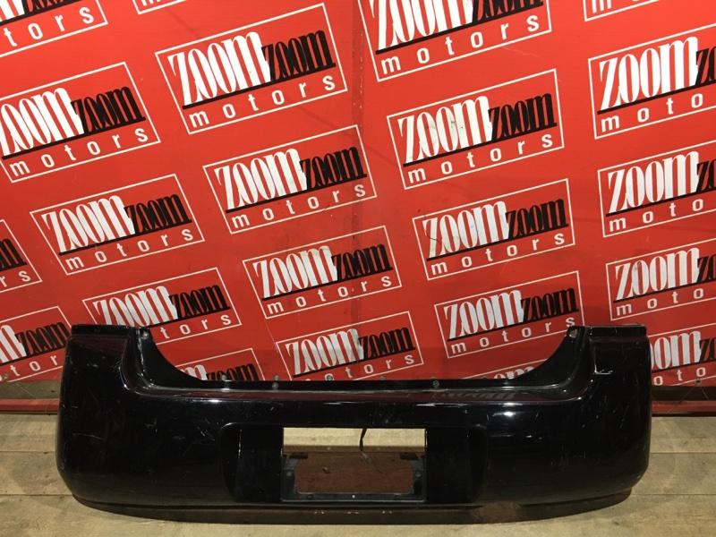 Бампер Suzuki Wagon R Solio MA34S M13A 1999 задний черный
