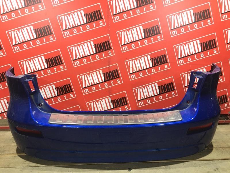 Бампер Mitsubishi Lancer X CX4A 4B11 2007 задний синий