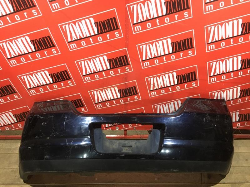 Бампер Nissan Tiida C11 HR15DE 2004 задний фиолетовый
