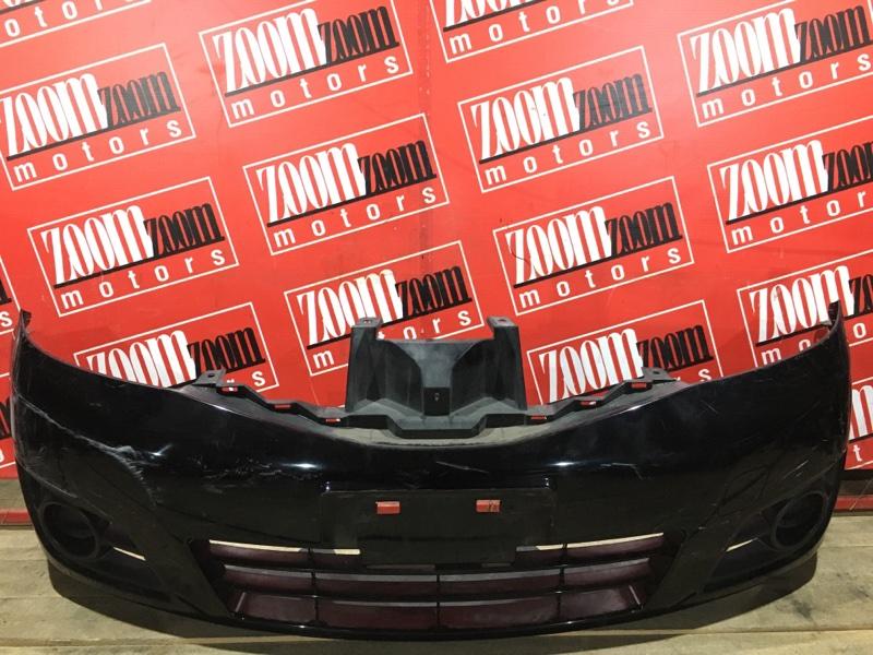 Бампер Nissan Note E11 HR15DE 2008 передний черный