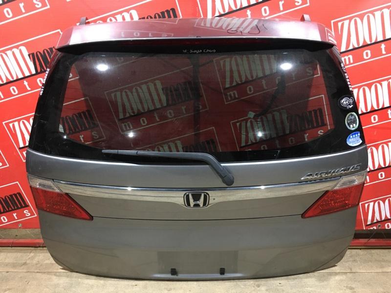 Дверь задняя багажника Honda Airwave GJ1 L15A 2005 задняя серый 132-22591