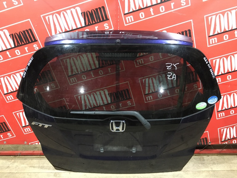 Дверь задняя багажника Honda Fit GE6 L13A 2005 задняя фиолетовый