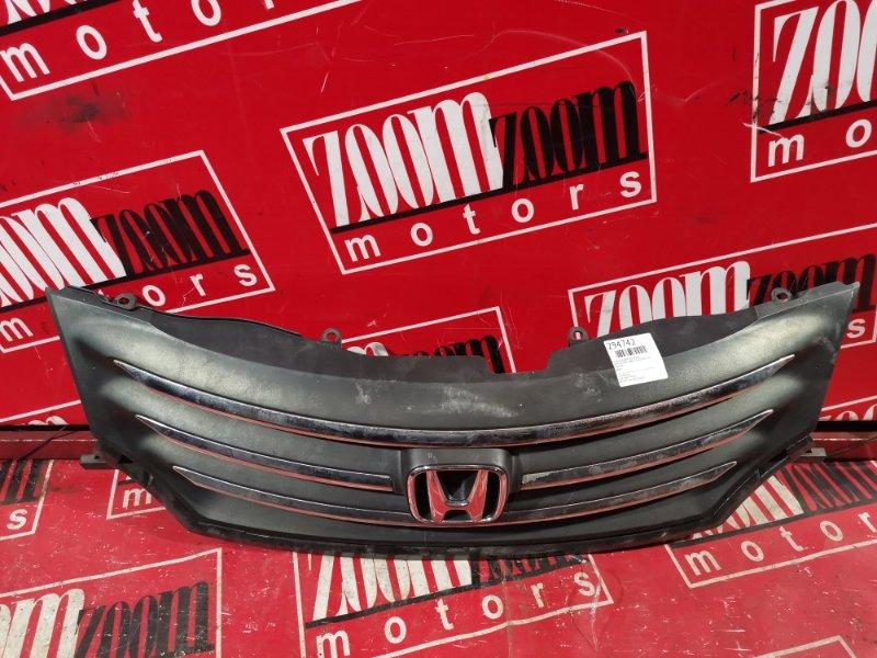 Решетка радиатора Honda Freed GB4 L15A 2008 передняя черный