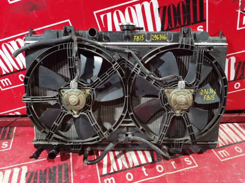Радиатор двигателя Nissan Sunny FB15 QG15DE 1998 передний