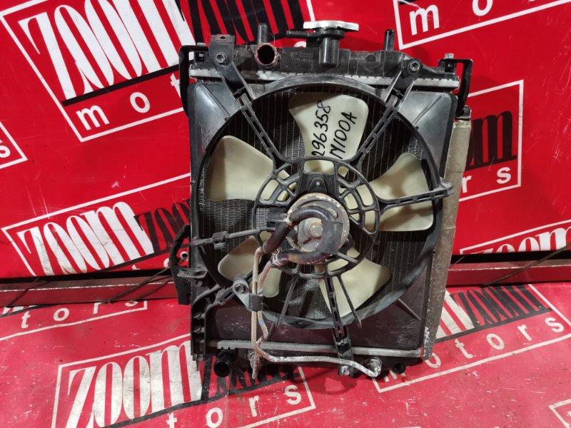 Радиатор двигателя Toyota Duet M100A EJ-VE 1998 передний
