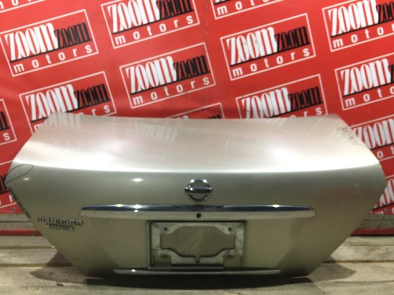 Крышка багажника Nissan Bluebird Sylphy QG10 QG18DE 2003 задняя золото