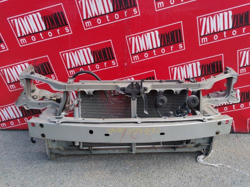 Рамка радиатора Toyota Vista Ardeo ZZV50 1ZZ-FE 1998 передняя белый