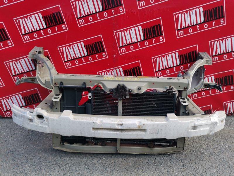 Рамка радиатора Toyota Vitz NCP10 2NZ-FE 2003 передняя золото