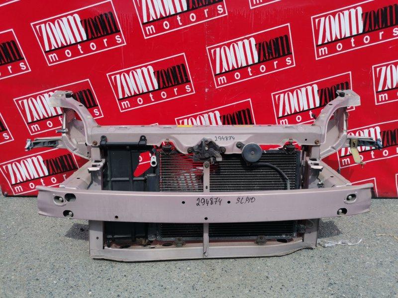 Рамка радиатора Toyota Vitz SCP10 1SZ-FE 1999 розовый