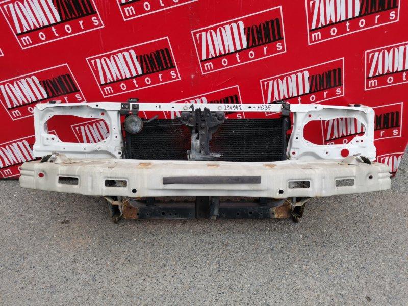 Рамка радиатора Nissan Laurel HC35 RB20DE 1997 белый