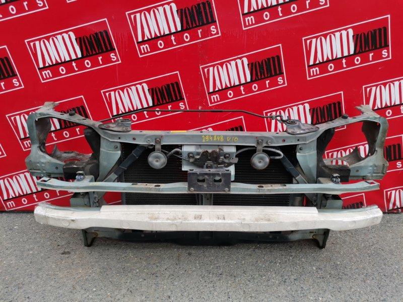 Рамка радиатора Nissan Tino V10 QG18DE 1998 передняя голубой
