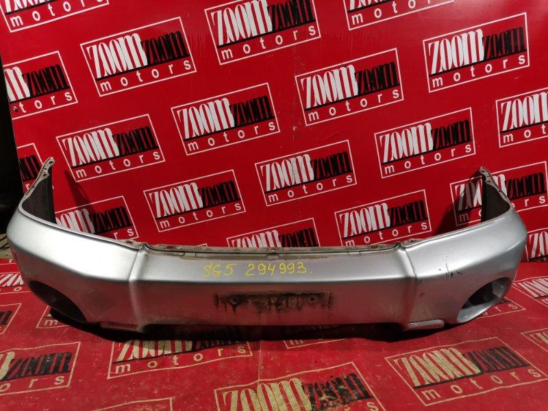 Бампер Subaru Forester SG5 EJ20 2002 передний серебро