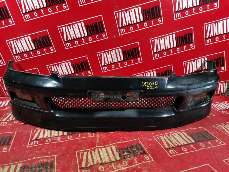Бампер Mitsubishi Lancer Cedia CS2A 4G15 2000 передний черный