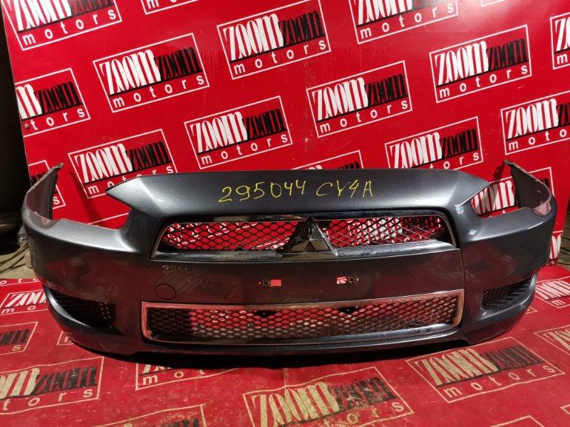 Бампер Mitsubishi Lancer X CY4A 4B11 2006 передний серый
