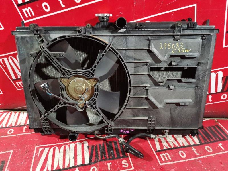 Радиатор двигателя Mitsubishi Lancer Cedia CS2A 4G15 2000