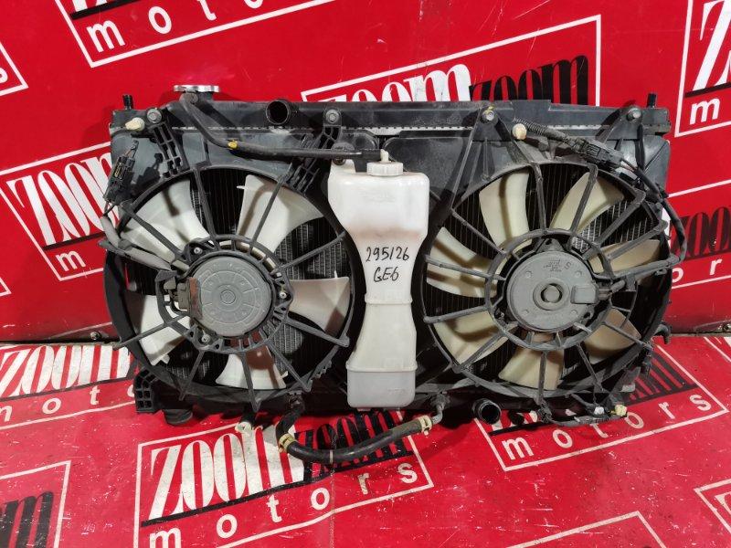 Радиатор двигателя Honda Fit GE6 L15A 2007