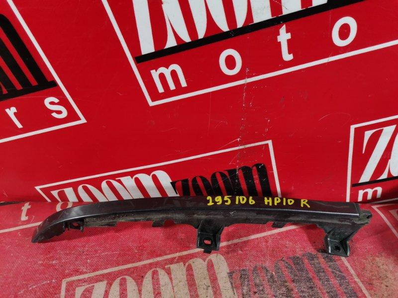 Планка под фару Nissan Primera HP10 SR18DE 1992 передняя правая серый