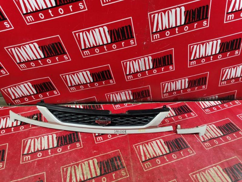 Решетка радиатора Nissan Serena TC24 SR20DE 2000 белый перламутр