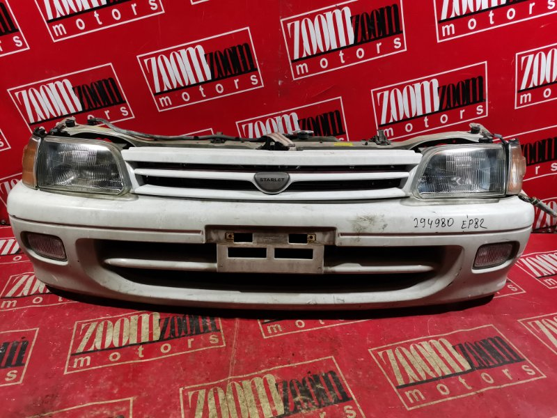 Nose cut Toyota Starlet EP82 4E-FE 1989 передний белый