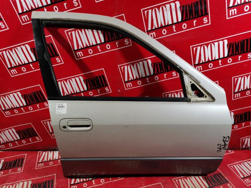 Дверь боковая Toyota Camry SV40 4S-FE 1994 передняя правая белый перламутр