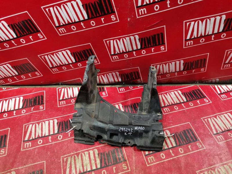Защита двс Toyota Ist NCP60 1NZ-FE 2002 передняя