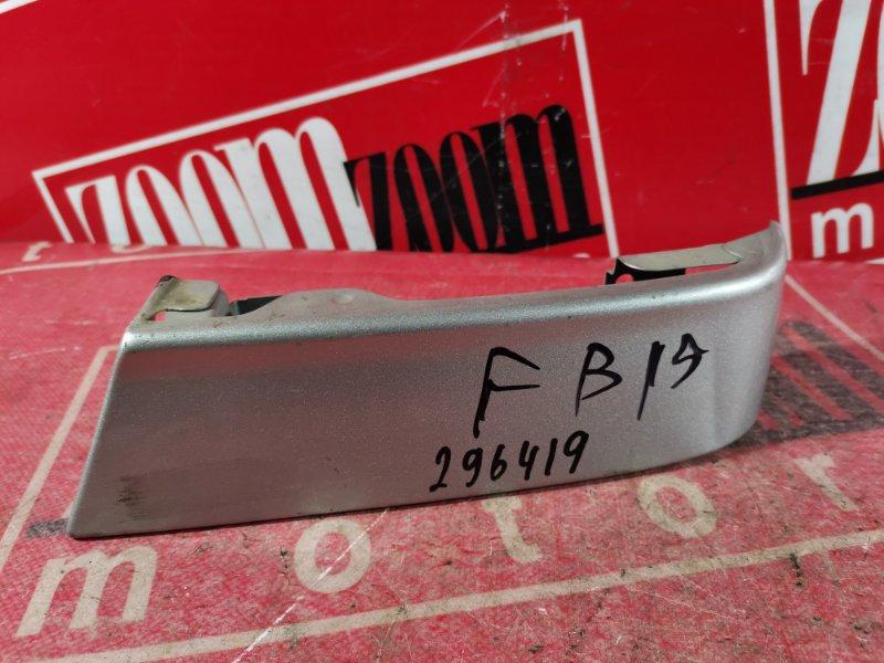 Планка под фонарь Nissan Sunny FB15 QG15DE 1998 задняя правая серебро