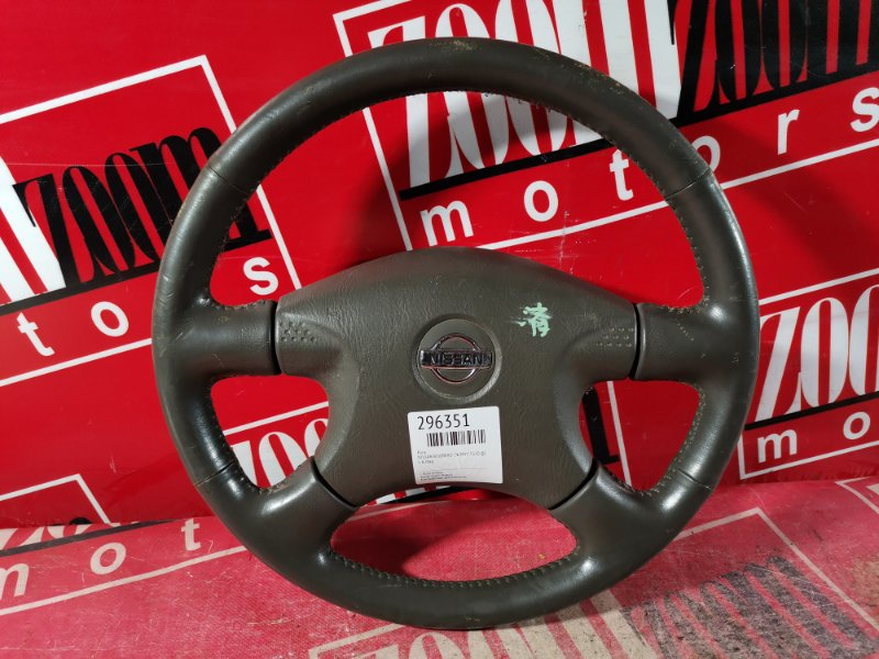 Руль Nissan Bluebird Sylphy TG10 QG18DE 2000 коричневый