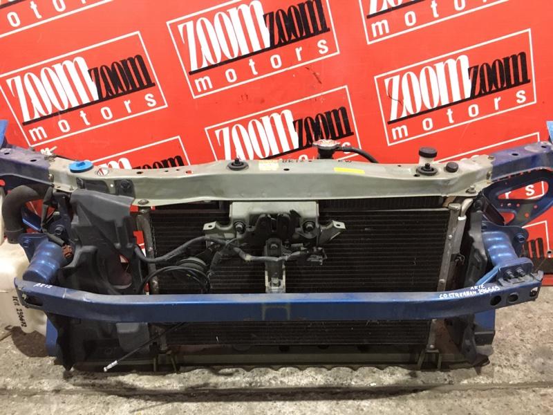 Усилитель бампера Nissan March AK12 CR12DE 2002 передний синий