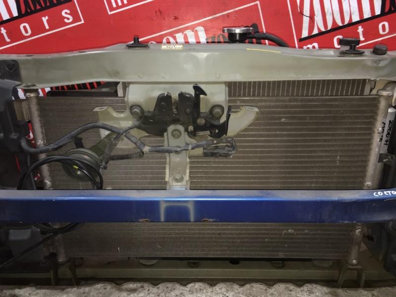 Радиатор кондиционера Nissan March AK12 CR12DE 2002