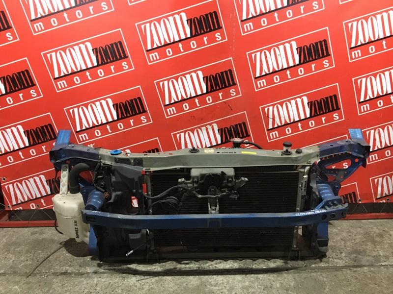 Рамка радиатора Nissan March AK12 CR12DE 2002 синий