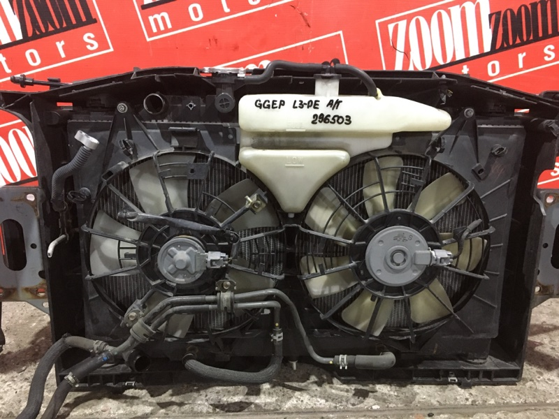 Радиатор двигателя Mazda Atenza GGEP L3-DE 2002 передний