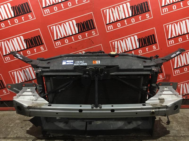 Рамка радиатора Mazda Atenza GGEP L3-DE 2002 передняя серебро